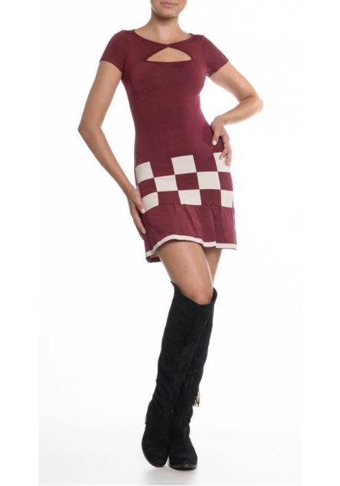 vestido-tricot-bandagem-xadrez--