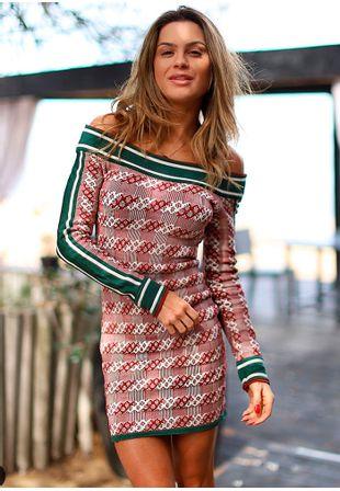 Vestido-Tricot-Bandage-Xadrez-Elle-j2
