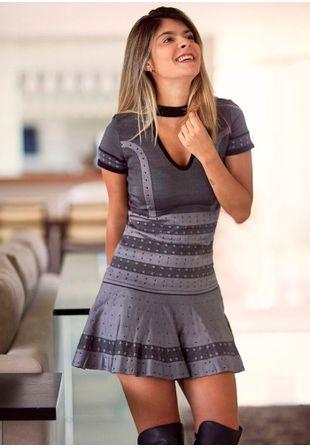 Vestido-Tricot-Bandage-Gargantilha-1