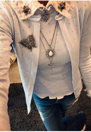 Blusa-Tricot-Bandagem-Pontinho