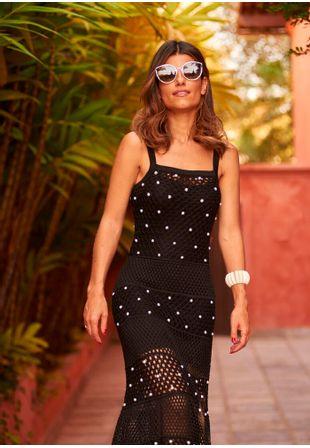 Vestido-Tricot-Renda-Furo-Perola-Carolina--preto-1