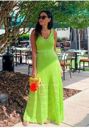 Vestido-Tricot-Longo-Renda-Alca-Tranca--verde-limao