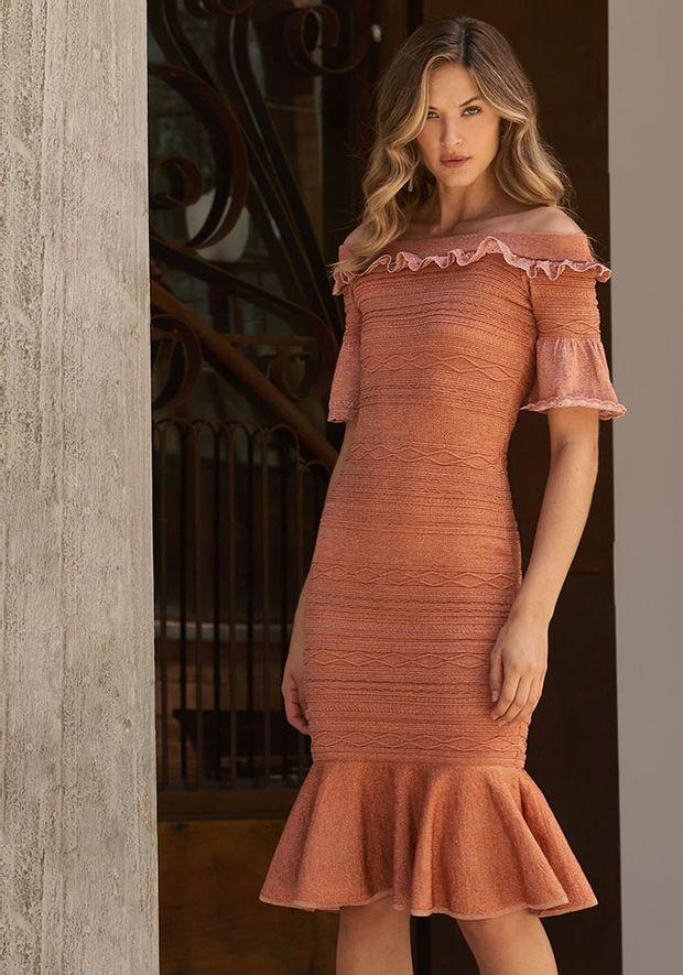 Vestido-Tricot-Midy-Bandage-Relevo--rose-e-cobre-2