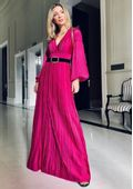 Vestido-Tricot-Longo-Decote-Profundo--pink