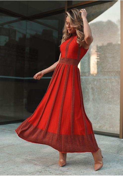 Vestido-Tricot-Midy-Gola-Colmeia--vermelho
