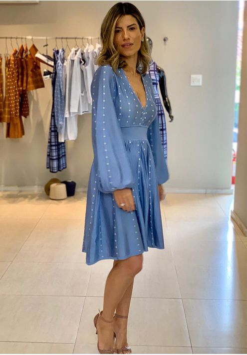 Vestido-Tricot-Curto-Poa-Manga-Bufante--azul-2