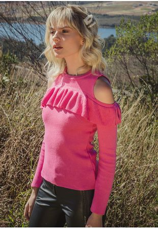 Blusa-Tricot-Babado-Lilly--rosa-chiclete-1