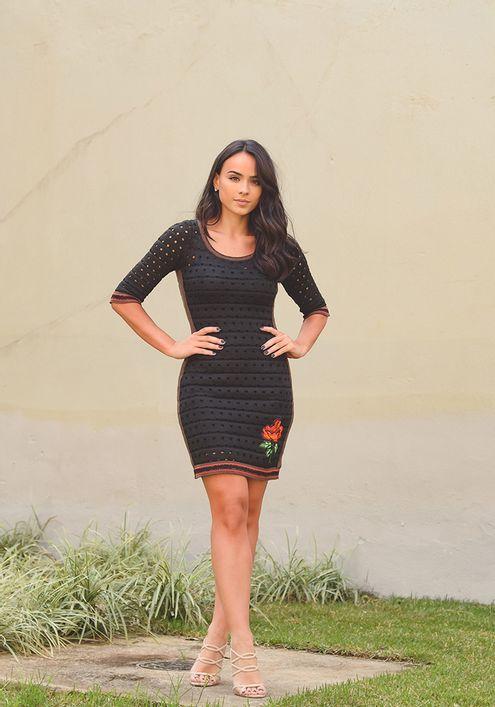 Vestido-Tricot-Rendado-Valentina--preto-e-marrom-1