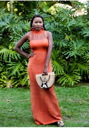 Vestido-Tricot-Longo-Gola-Decote-Costas-Transparencia--laranja-1