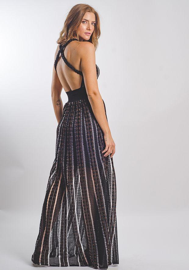 Vestido-Tricot-Longo-Poa-Transparencia--preto-e-cobre-2