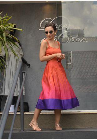 Vestido-Tricot-Midy-Plissado-Orquidea--laranja-e-pink-1
