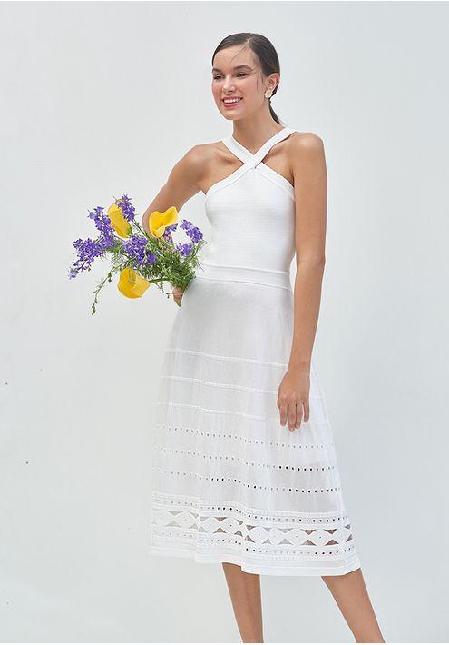 Vestido-Tricot-Midy-Losango-Transparencia-Costas--branco-1