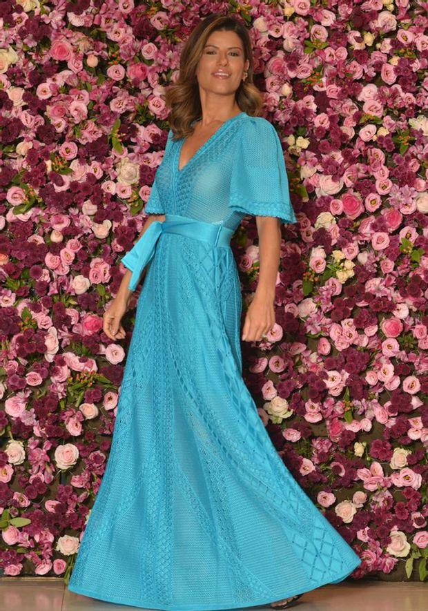 Vestido-Tricot-Longo-Decote-Transpassado-Florescer--azul-1