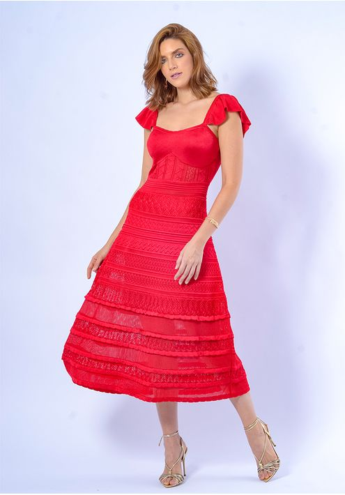 Vestido-Tricot-Midy-Babado-Zig-Liso--vermelho-1