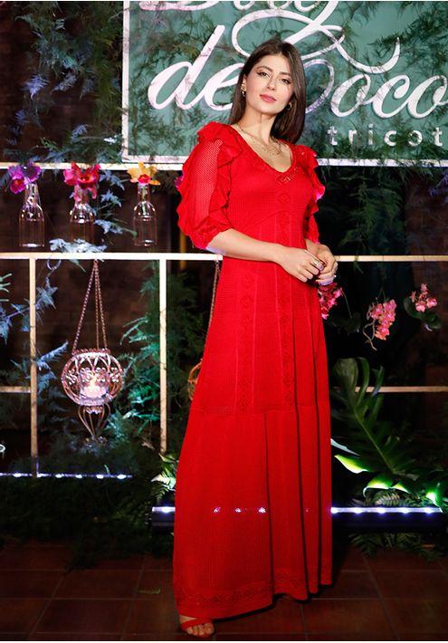 Vestido-Tricot-Longo-Rendado-Manga-Babado--vermelho-4