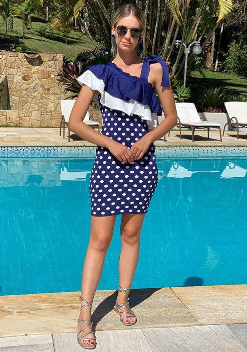 Vestido-Tricot-Bandagem-Poa-Anne--MARINHO-1