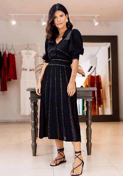Vestido-Tricot-Chemise-Listras-Brilho--preto-1