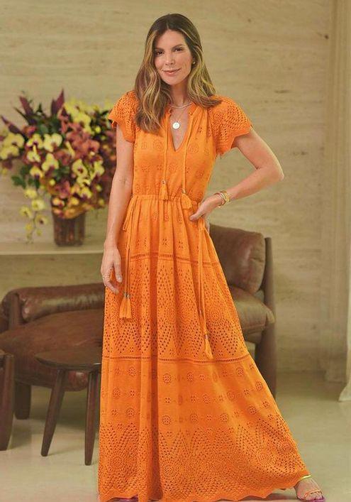vestido-tricot-longo-tassel---laranja