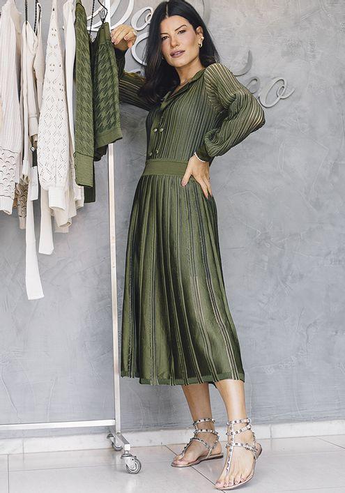 Vestido-Tricot-Midy-Botoes-Nervuras-Transparencia--verde-militar-1