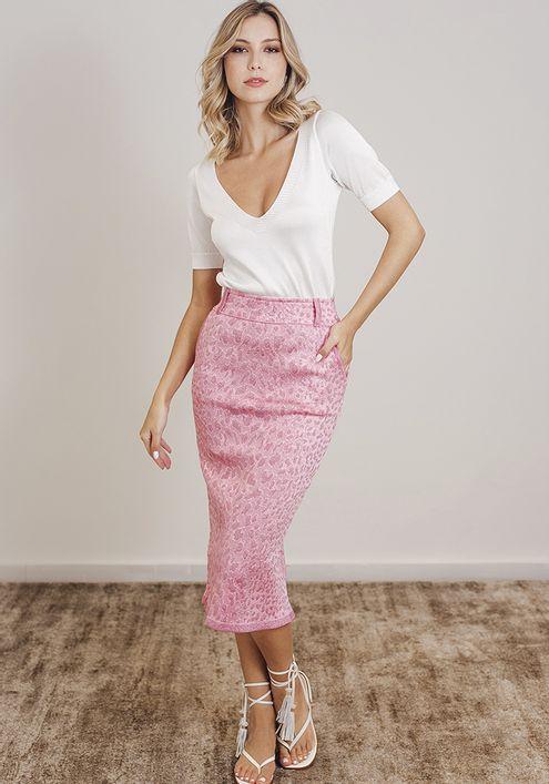 Saia-Tricot-Midy-Bandage-Fenda-Costas--rosa-claro-com-brilho-1
